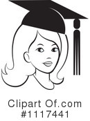 Royalty-Free (RF) Graduate Clipart Illustration #1117441