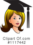 Royalty-Free (RF) Graduate Clipart Illustration #1117442