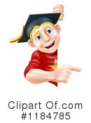 Graduate Clipart #1184785 by AtStockIllustration