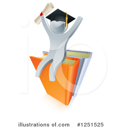 Reading Clipart #1251525 by AtStockIllustration