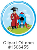 Graduate Clipart #1506455 by Lal Perera