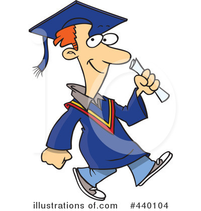 Graduate Clipart #440104 by toonaday