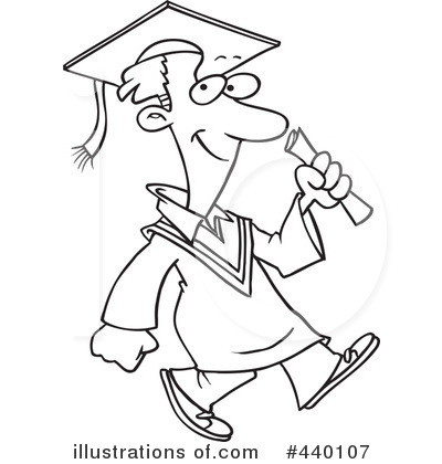 Graduate Clipart #440107 by toonaday