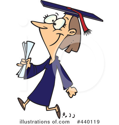 Graduate Clipart #440119 by toonaday
