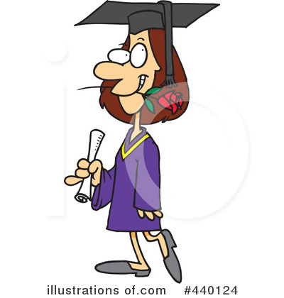 Graduate Clipart #440124 by toonaday