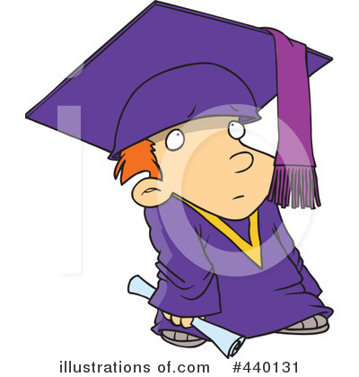 Graduate Clipart #440131 by toonaday
