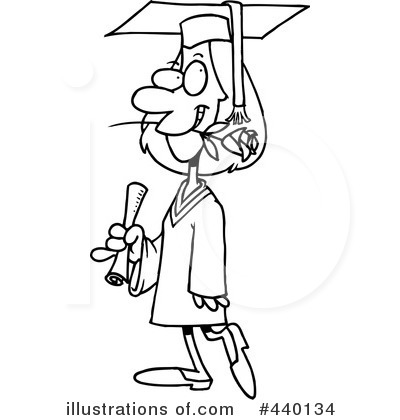 Graduate Clipart #440134 by toonaday