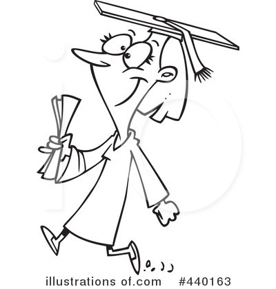 Graduate Clipart #440163 by toonaday