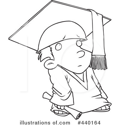 Graduate Clipart #440164 by toonaday