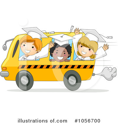 Bus Clipart #1056700 by BNP Design Studio