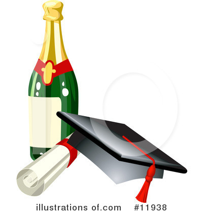 Graduate Clipart #11938 by AtStockIllustration