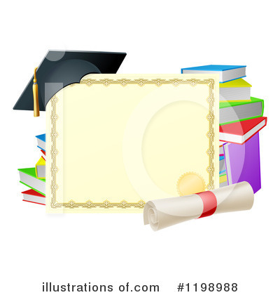 Graduate Clipart #1198988 by AtStockIllustration