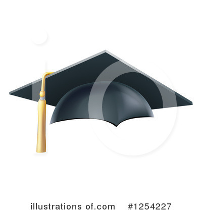 Graduate Clipart #1254227 by AtStockIllustration