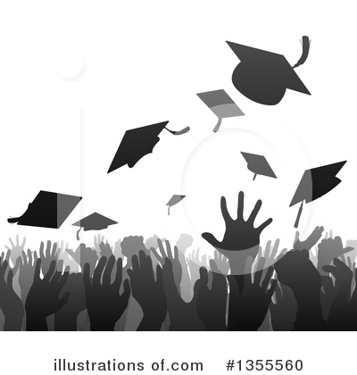 Graduation Clipart #1355560 by AtStockIllustration