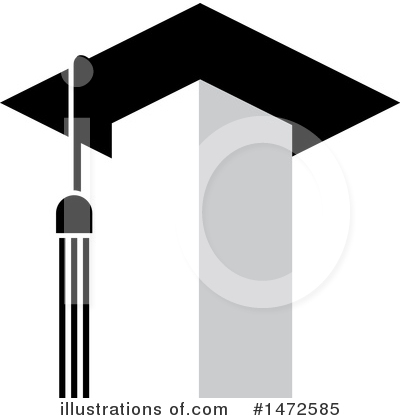 Royalty-Free (RF) Graduation Clipart Illustration by Lal Perera - Stock Sample #1472585