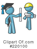 Graduation Clipart #220100 by Leo Blanchette