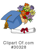 Graduation Clipart #30328 by LaffToon