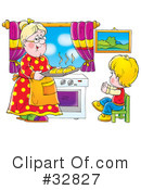 Grandma Clipart #32827 by Alex Bannykh