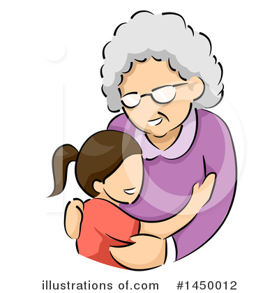 Granny Clipart #1450012 by BNP Design Studio