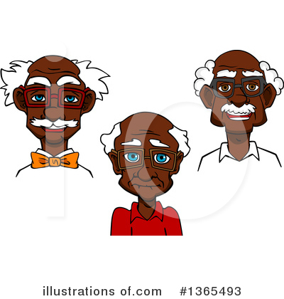 Senior Man Clipart #1365493 by Vector Tradition SM