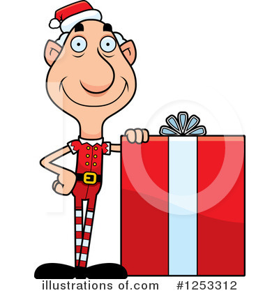 Elf Clipart #1253312 by Cory Thoman