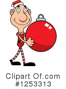Grandpa Elf Clipart #1253313 by Cory Thoman