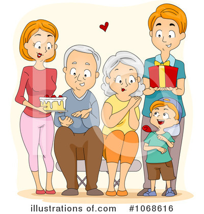 Royalty-Free (RF) Grandparents Clipart Illustration #1068616 by BNP ...