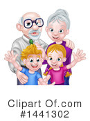 Grandparents Clipart #1441302 by AtStockIllustration