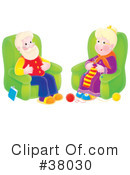 Royalty-Free (RF) Grandparents Clipart Illustration #38030