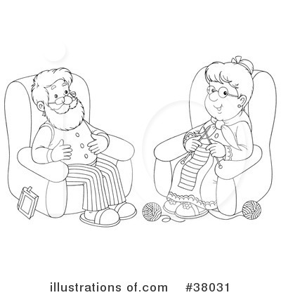 Granny Clipart #38031 by Alex Bannykh