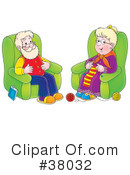Royalty-Free (RF) Grandparents Clipart Illustration #38032