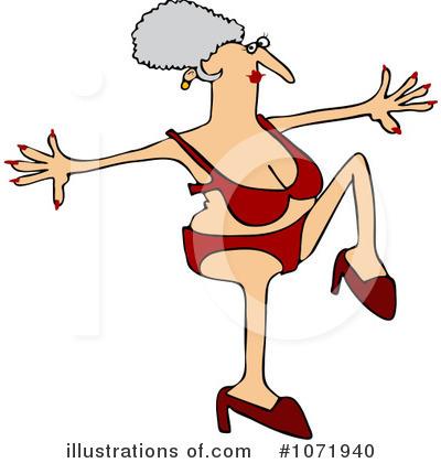 Granny Clipart #1071940 - Illustration by djart