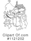 Royalty-Free (RF) Granny Clipart Illustration #1121202