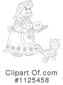 Granny Clipart #1125458 by Alex Bannykh