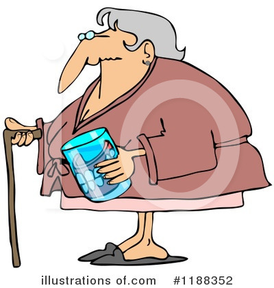 Old Woman Clipart #1188352 by djart