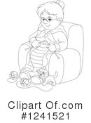 Granny Clipart #1241521 by Alex Bannykh