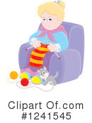 Granny Clipart #1241545 by Alex Bannykh