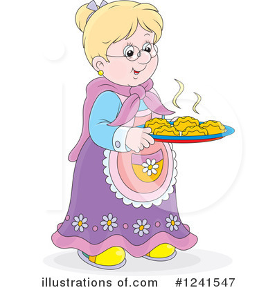 Granny Clipart #1241547 by Alex Bannykh
