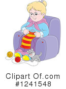 Granny Clipart #1241548 by Alex Bannykh