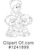 Granny Clipart #1241899 by Alex Bannykh
