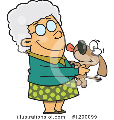 Granny Clipart #1290099 by toonaday