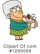 Royalty-Free (RF) Granny Clipart Illustration #1290099