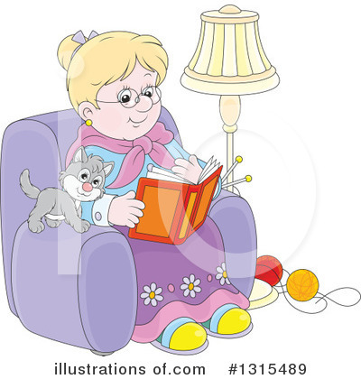 Knitting Clipart #1315489 by Alex Bannykh