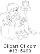 Granny Clipart #1315490 by Alex Bannykh