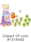 Royalty-Free (RF) Granny Clipart Illustration #1315492