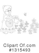 Granny Clipart #1315493 by Alex Bannykh