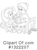 Granny Clipart #1322207 by Alex Bannykh