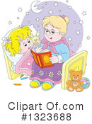 Royalty-Free (RF) Granny Clipart Illustration #1323688