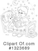 Granny Clipart #1323689 by Alex Bannykh