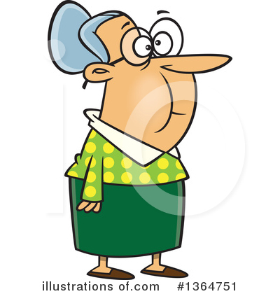 Granny Clipart #1364751 by toonaday